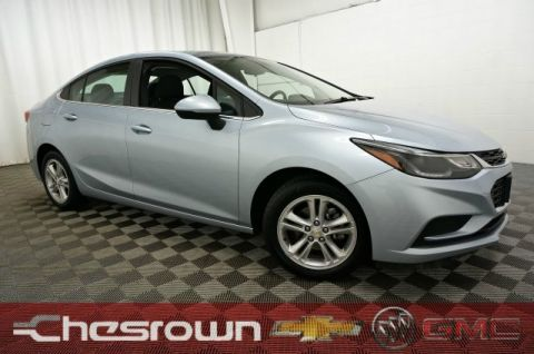 Pre-Owned 2017 Chevrolet Cruze LT FWD 4D Sedan