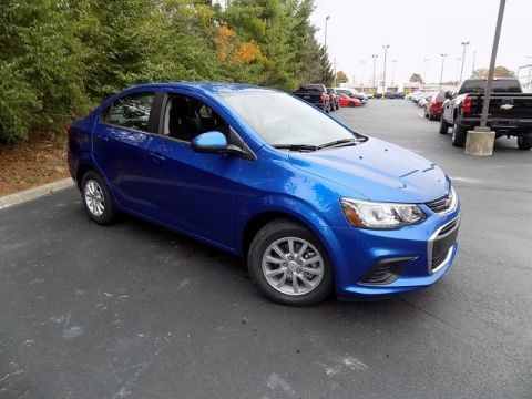 New 2018 Chevrolet Sonic LT FWD 4D Sedan