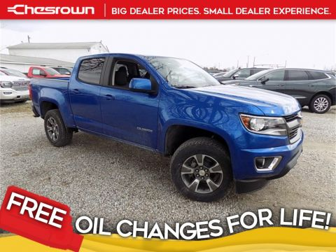 New 2018 Chevrolet Colorado Z71 4WD