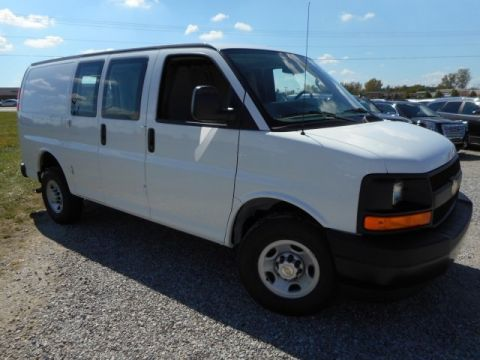New 2017 Chevrolet Express 2500 Work Van RWD 3D Cargo Van