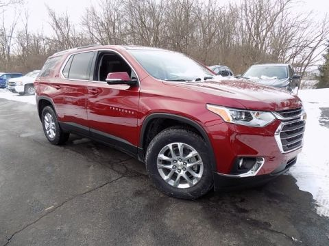 New 2018 Chevrolet Traverse LT Cloth FWD 4D Sport Utility