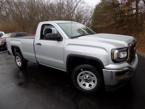 New 2018 GMC Sierra 1500 Base RWD 2D Standard Cab