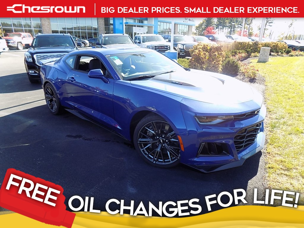 New 2019 Chevrolet Camaro Zl1 2d Coupe In Delaware C19184