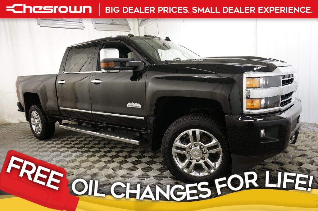 Pre-Owned 2018 Chevrolet Silverado 2500HD High Country