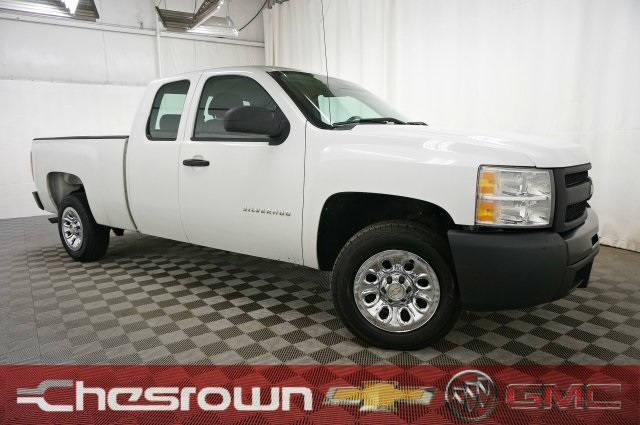 Pre-Owned 2010 Chevrolet Silverado 1500 Work Truck