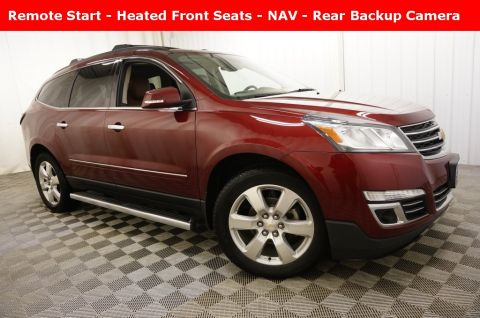 Pre-Owned 2017 Chevrolet Traverse Premier With Navigation & AWD